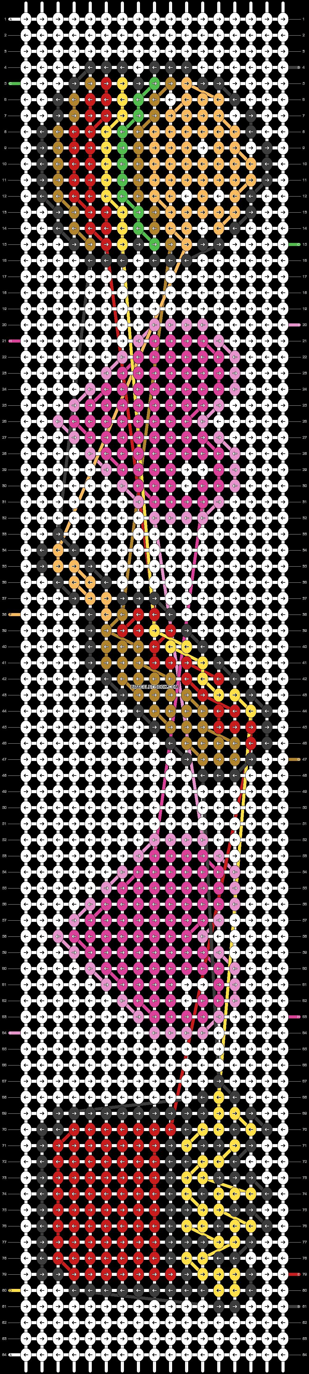 Alpha pattern #23351 pattern