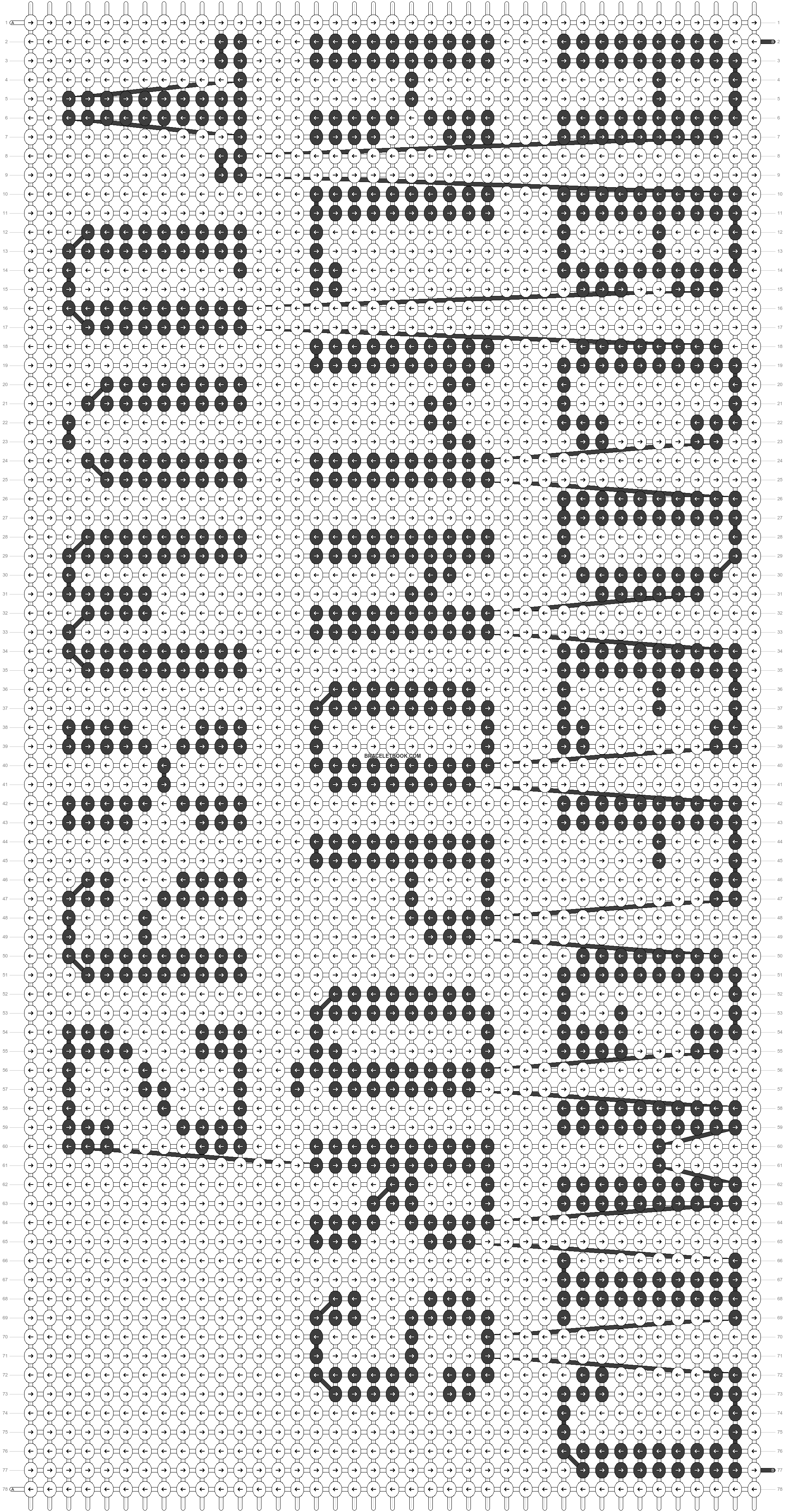Alpha pattern #23370 pattern