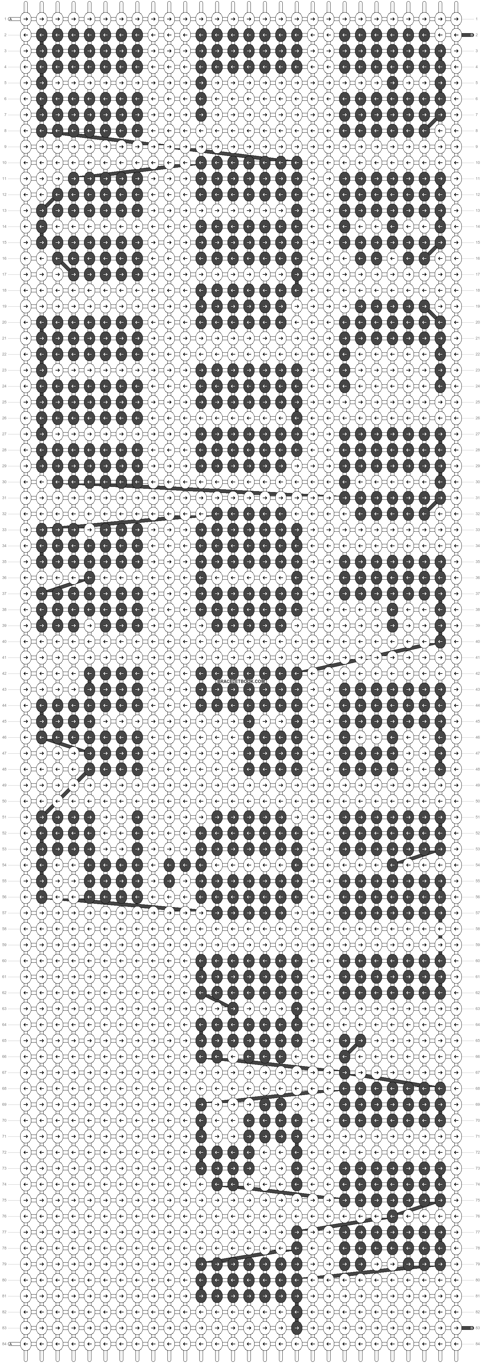 Alpha pattern #23376 pattern