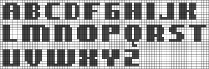 Alpha pattern #23376