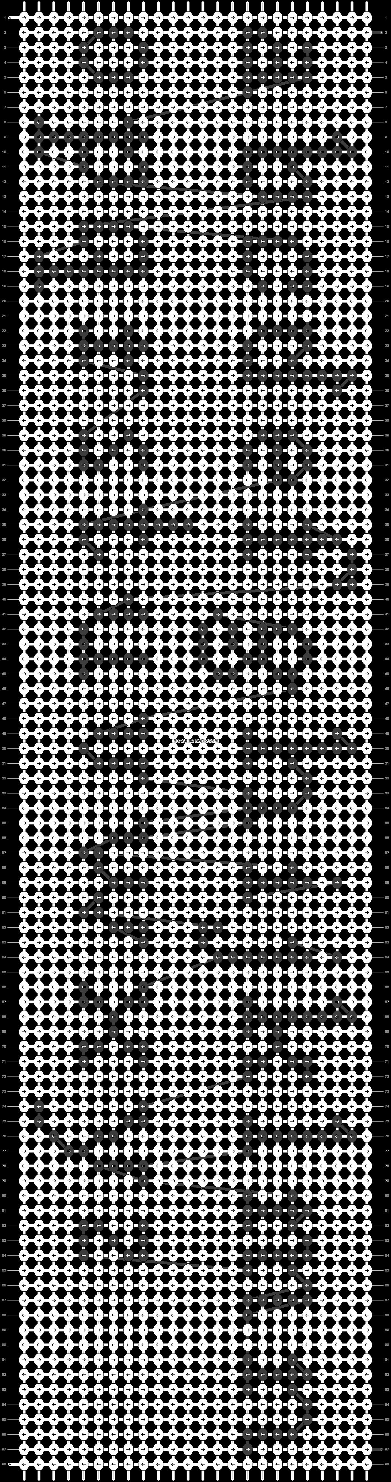 Alpha pattern #23388 pattern