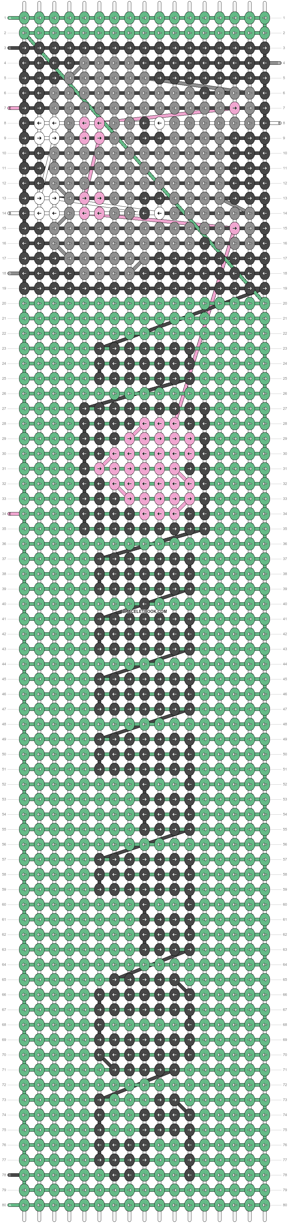 Alpha pattern #23545 pattern