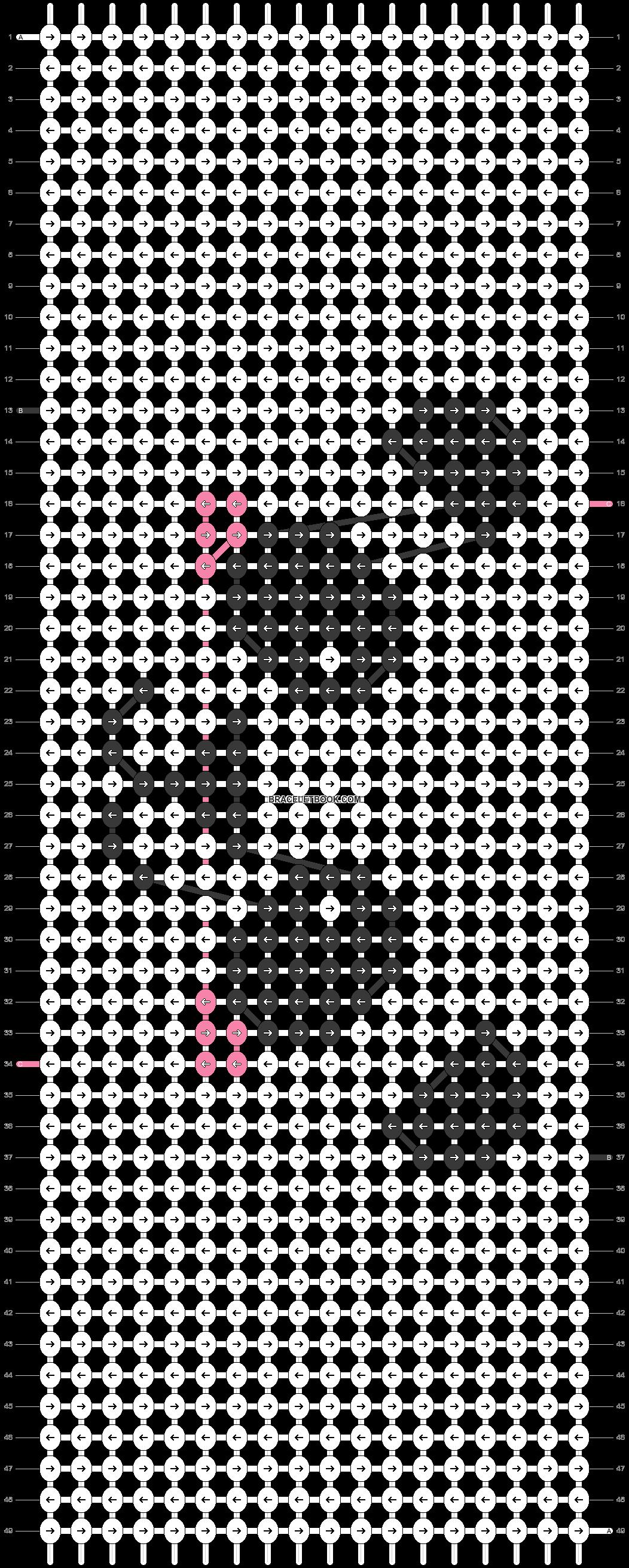 Alpha pattern #23548 pattern