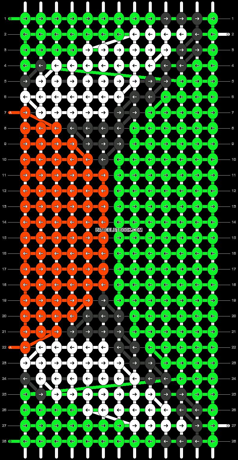 Alpha pattern #23564 pattern