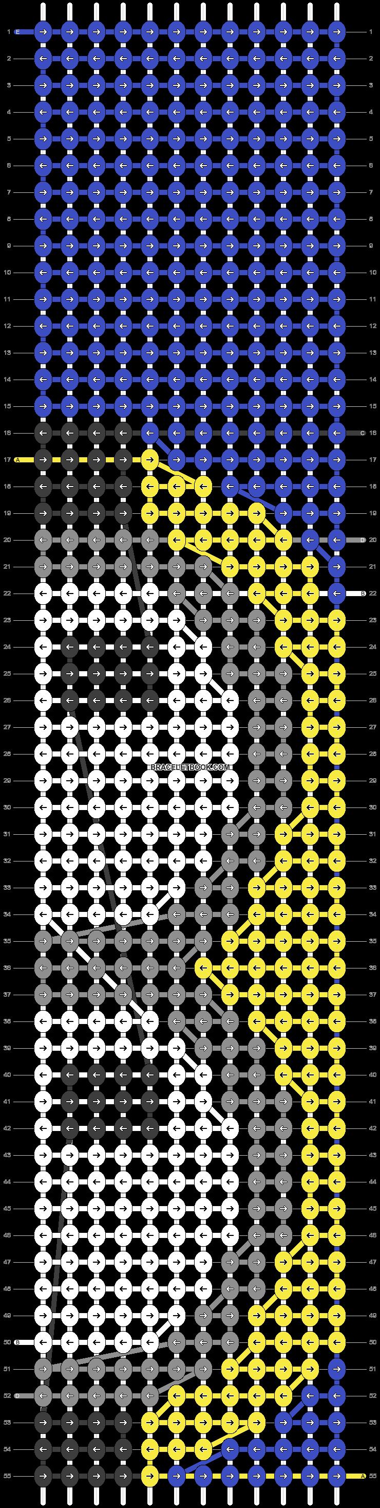Alpha pattern #23572 pattern