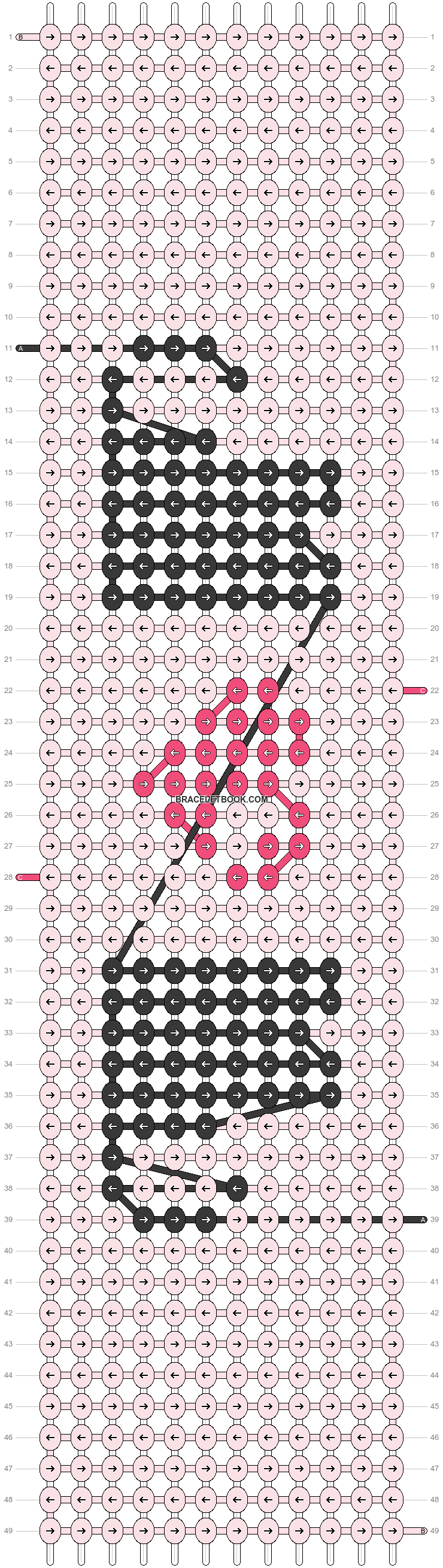 Alpha pattern #23582 pattern