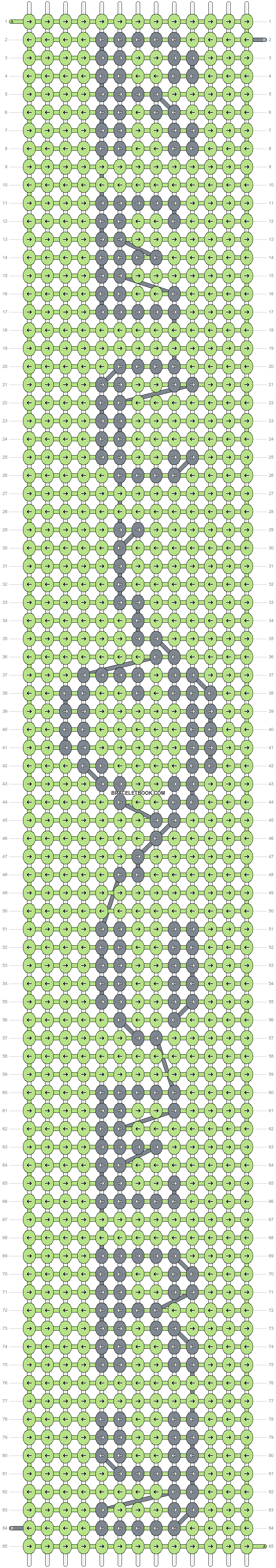 Alpha pattern #23585 pattern