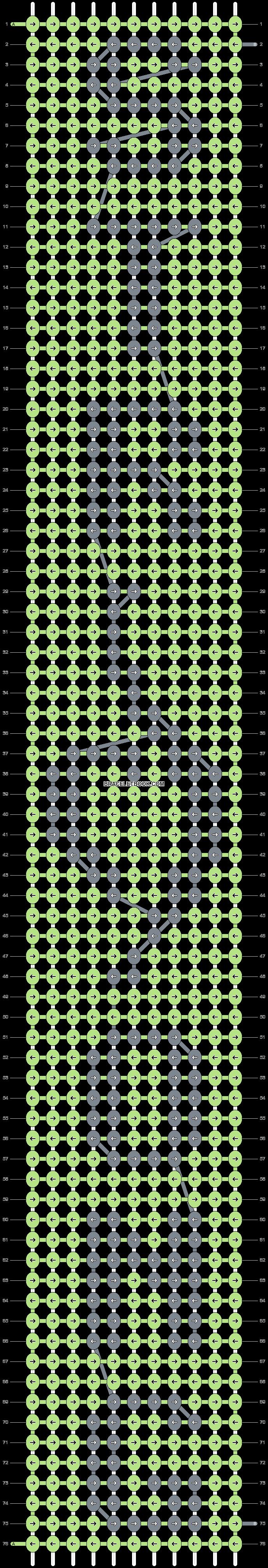 Alpha pattern #23587 pattern
