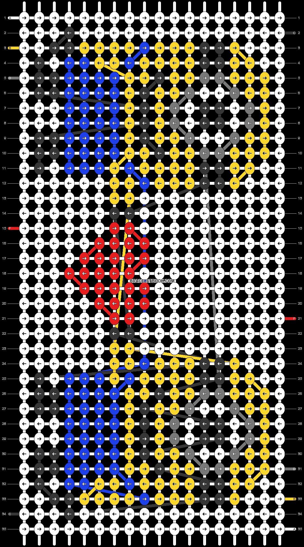 Alpha pattern #23598 pattern
