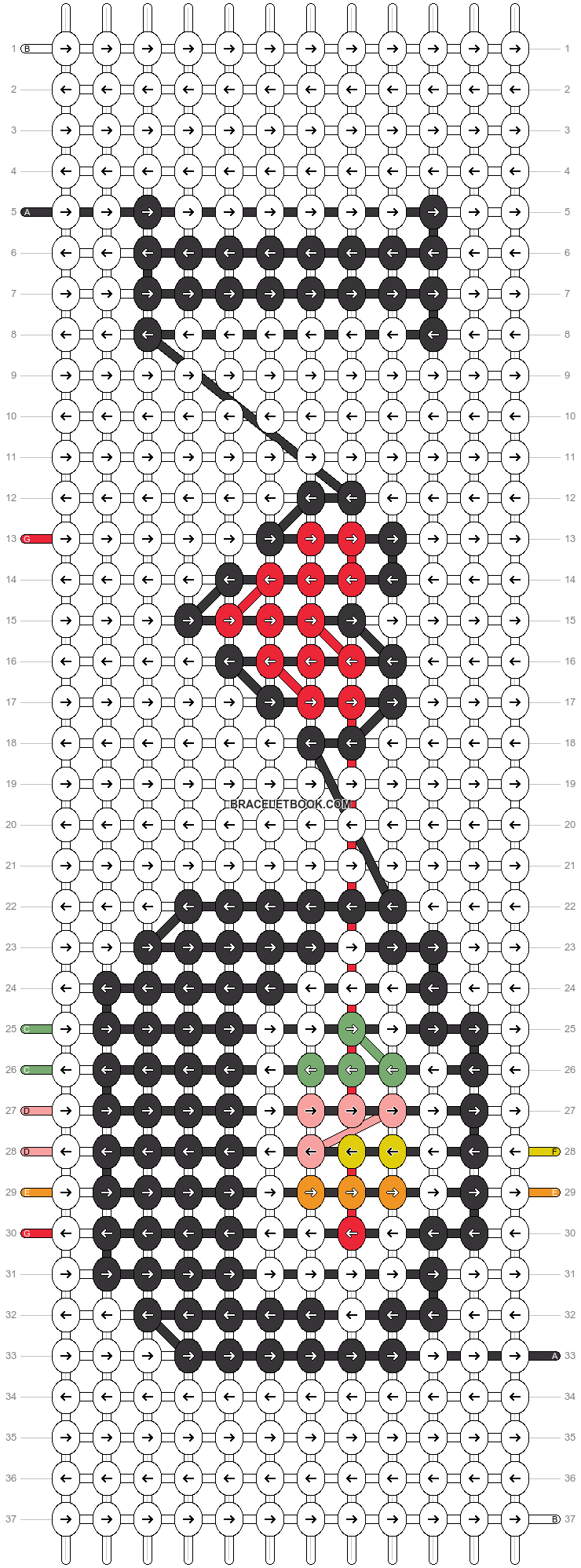 Alpha pattern #23614 pattern