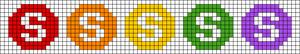 Alpha pattern #23639