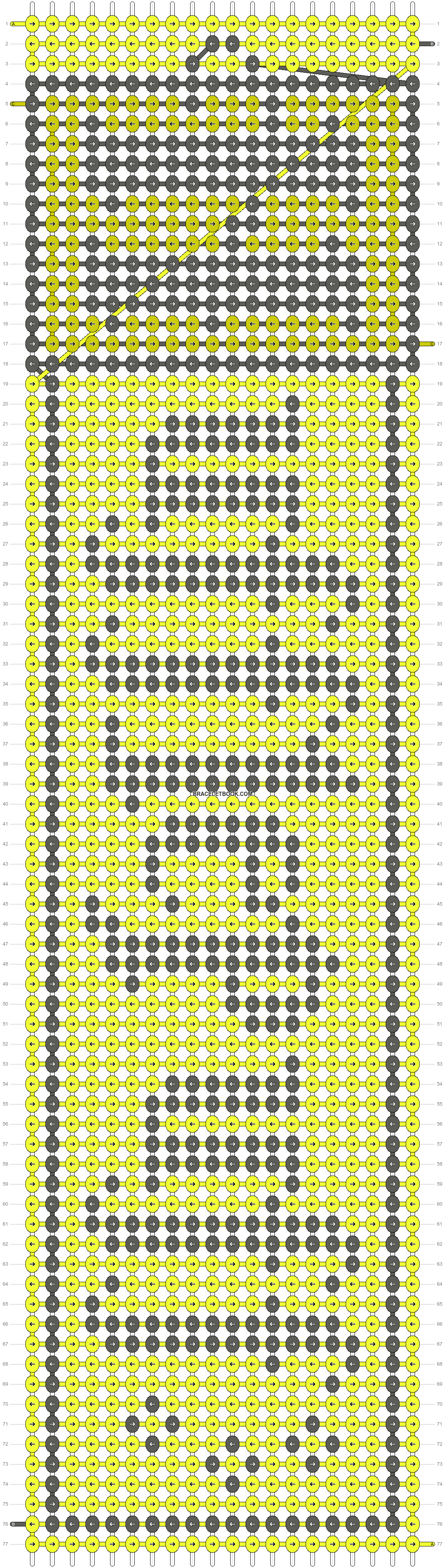 Alpha pattern #23649 pattern