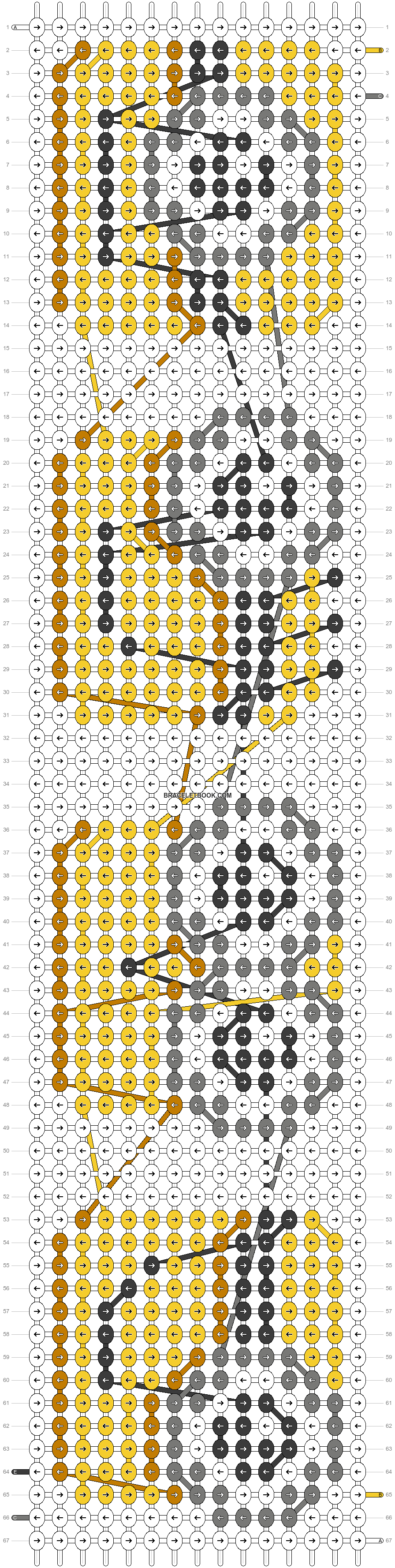 Alpha pattern #23650 pattern