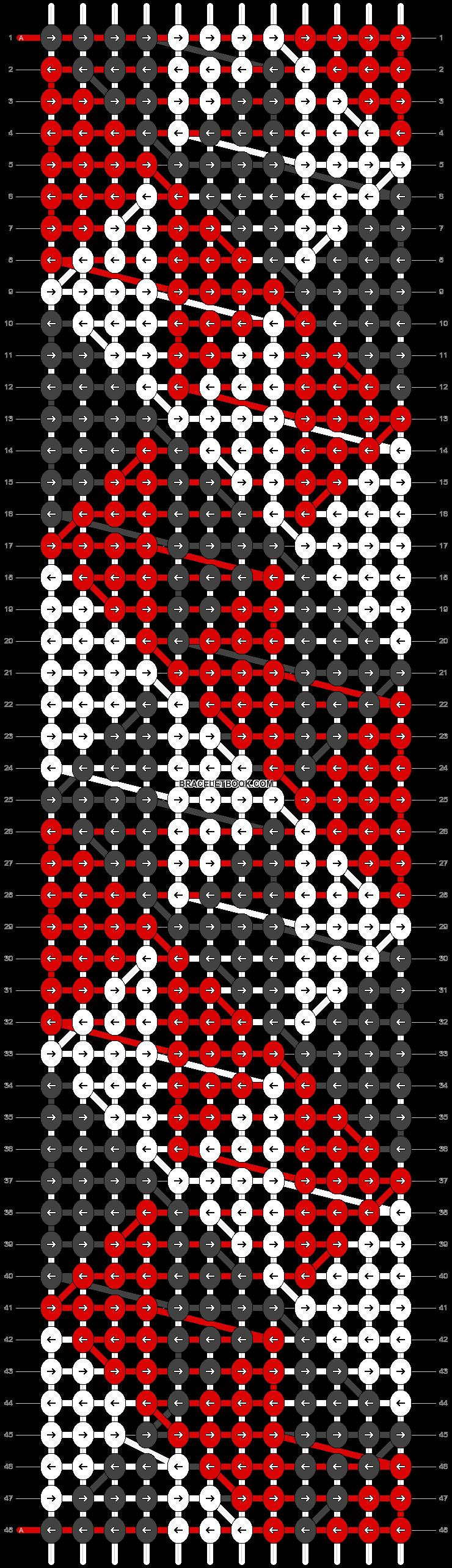 Alpha pattern #23651 pattern