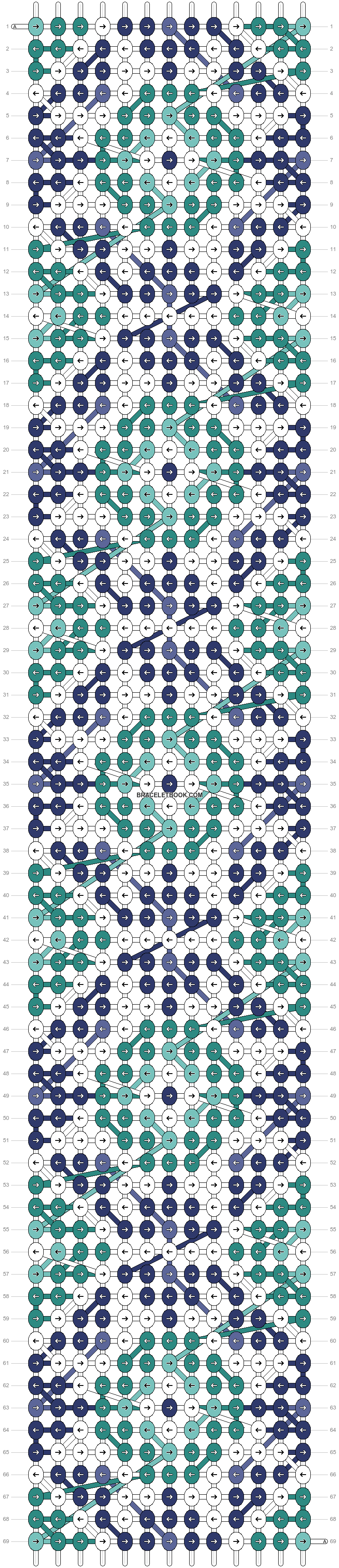 Alpha pattern #23660 pattern