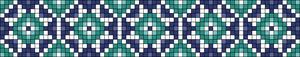 Alpha pattern #23660