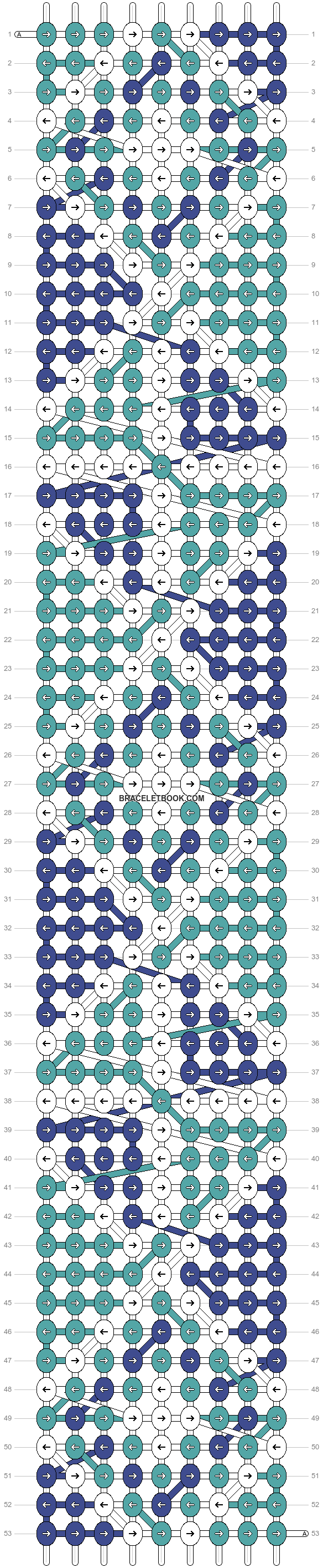 Alpha pattern #23663 pattern