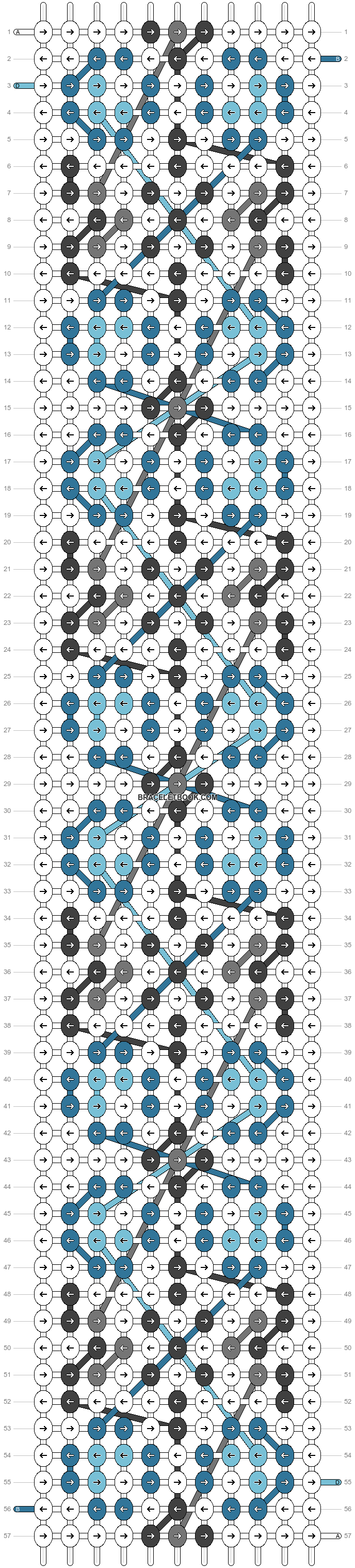 Alpha pattern #23664 pattern