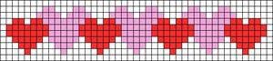 Alpha pattern #23665