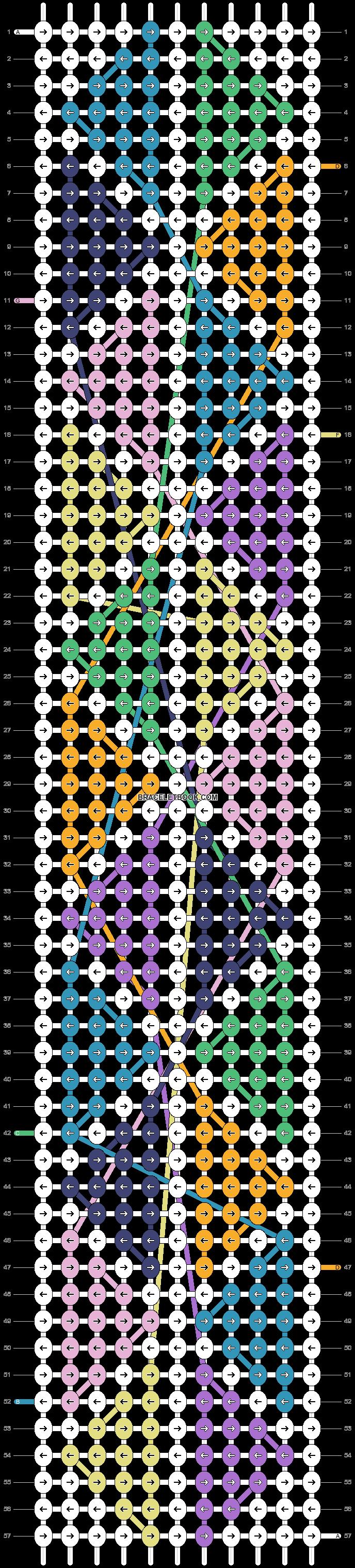 Alpha pattern #23668 pattern