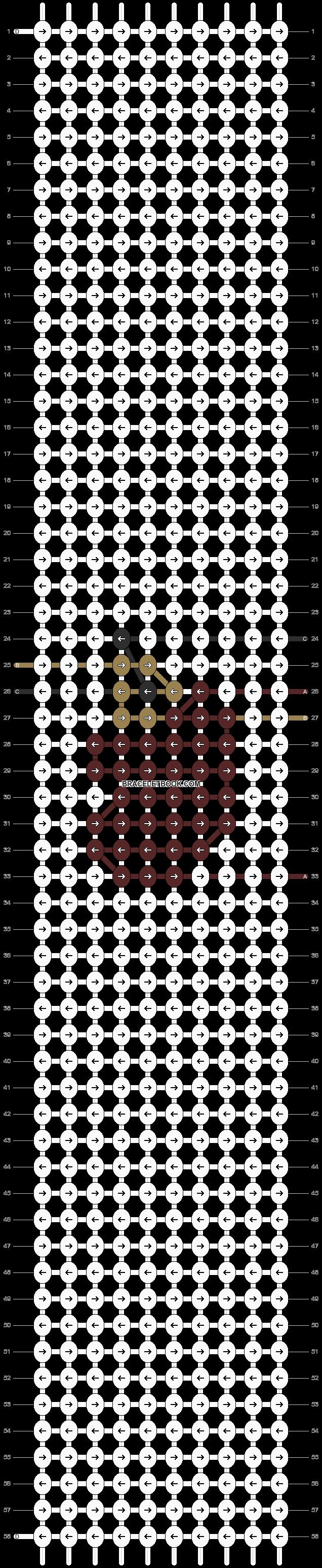 Alpha pattern #23680 pattern