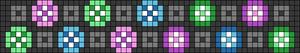 Alpha pattern #23695