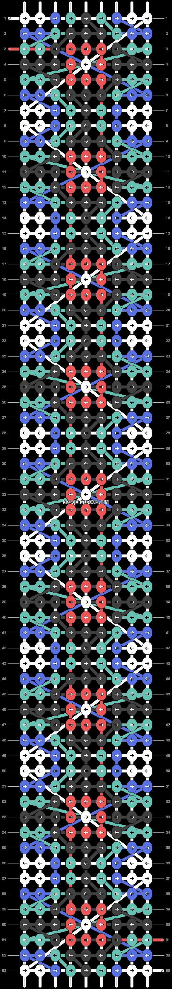 Alpha pattern #23708 pattern