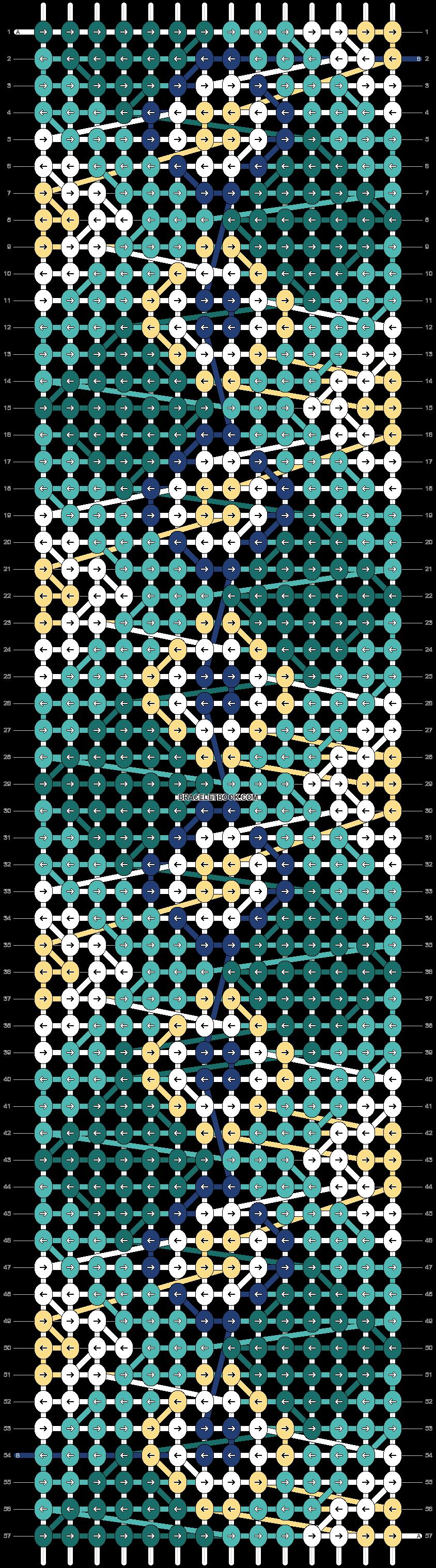 Alpha pattern #23711 pattern