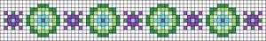 Alpha pattern #23712