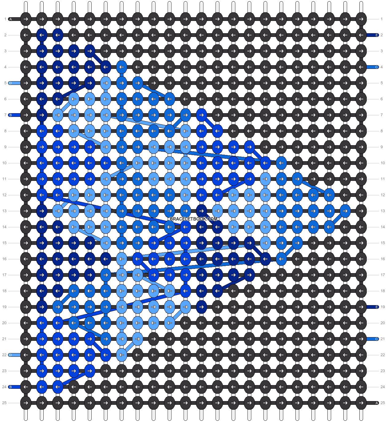 Alpha pattern #23718 pattern