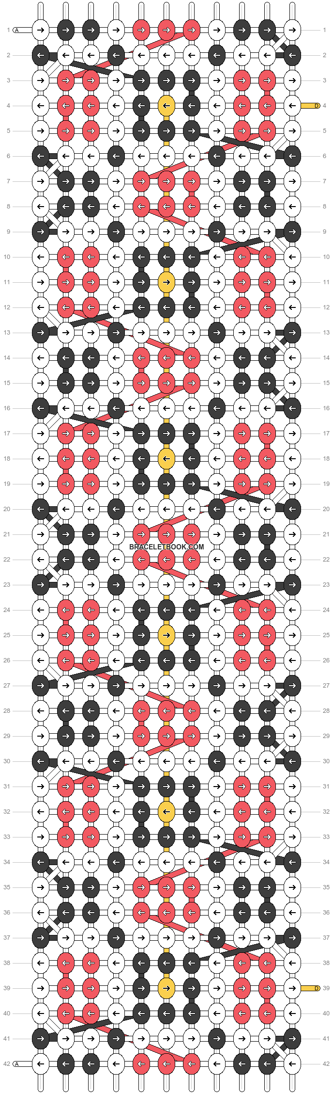 Alpha pattern #23778 pattern
