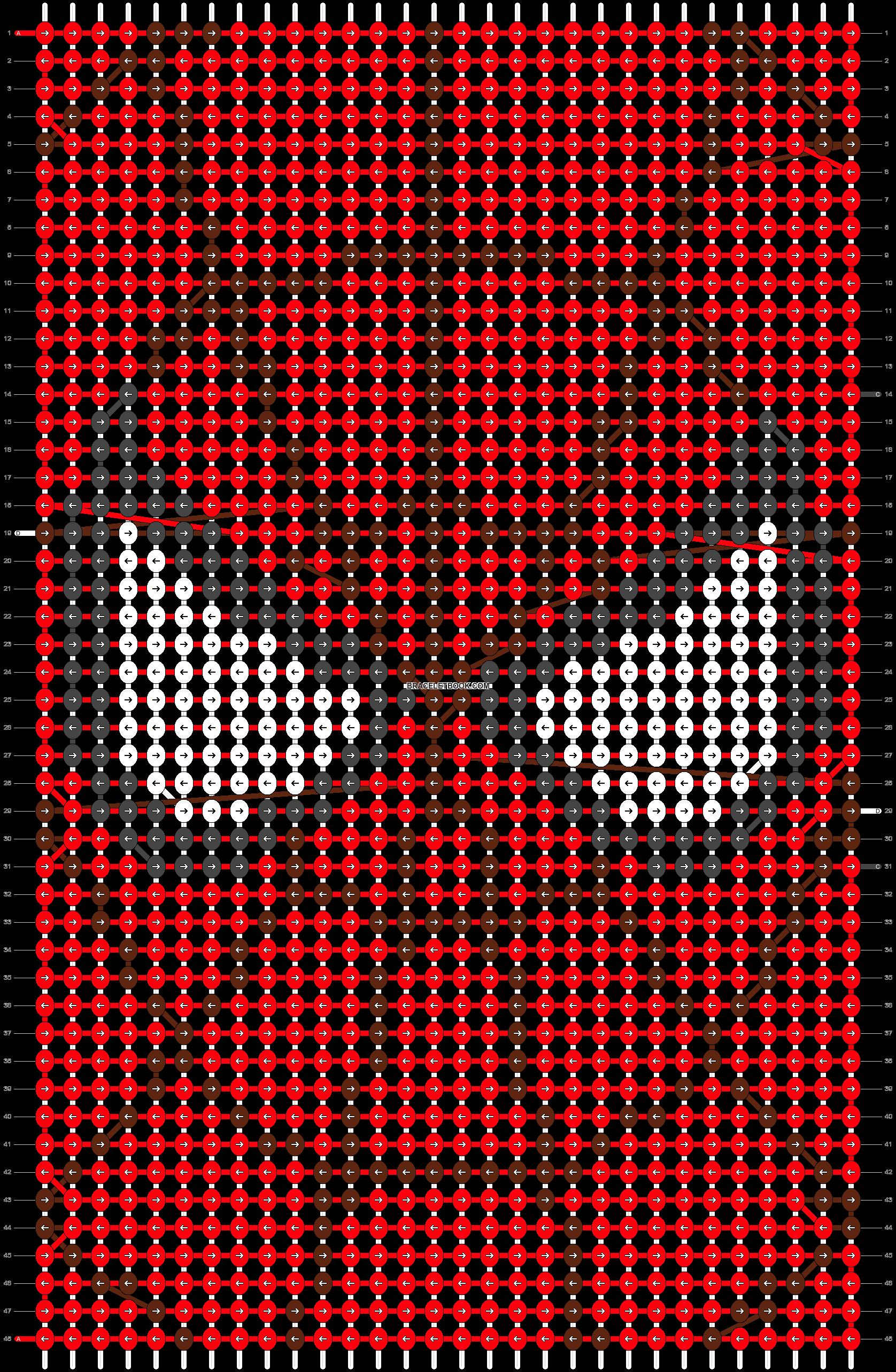 Alpha pattern #23792 pattern