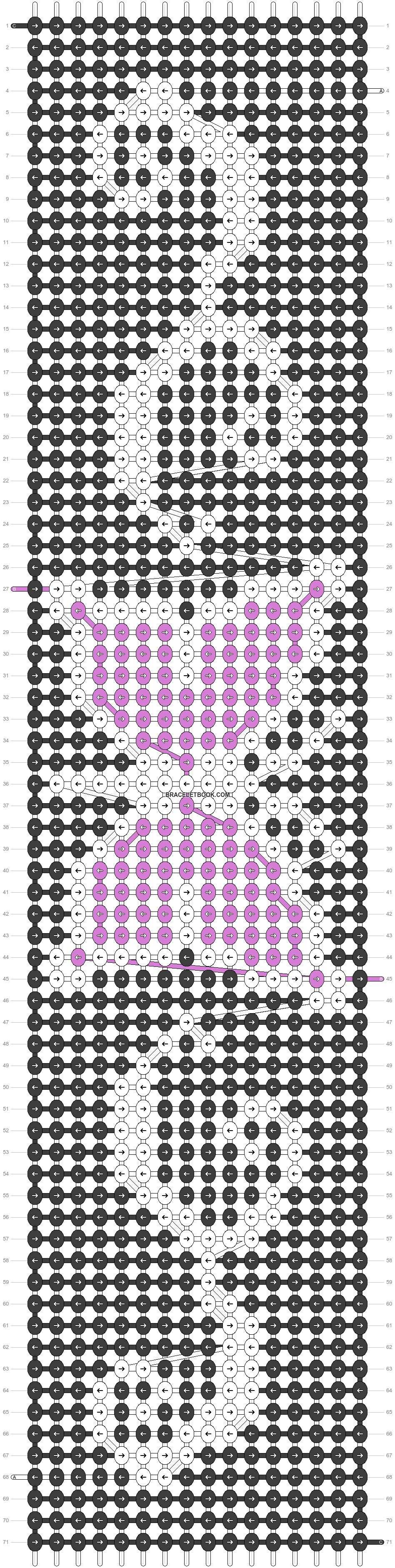 Alpha pattern #23861 pattern