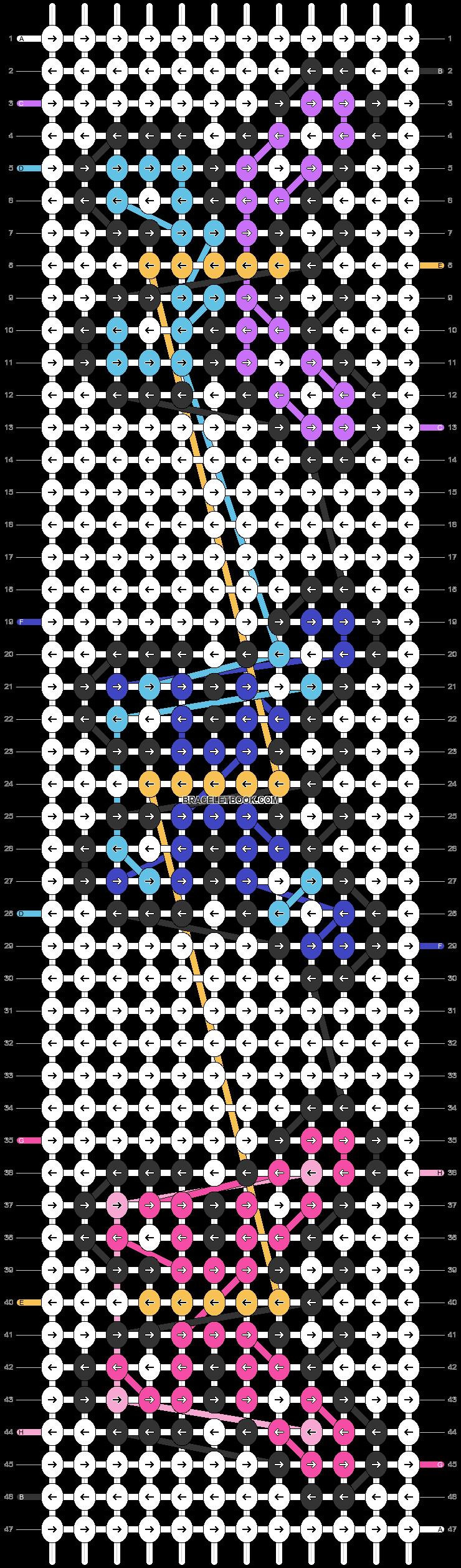 Alpha pattern #23863 pattern