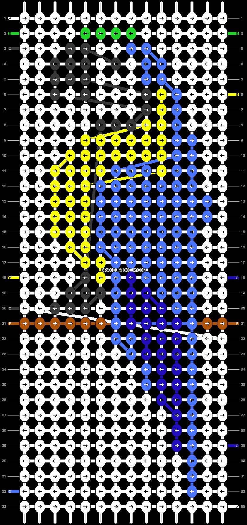 Alpha pattern #23865 pattern