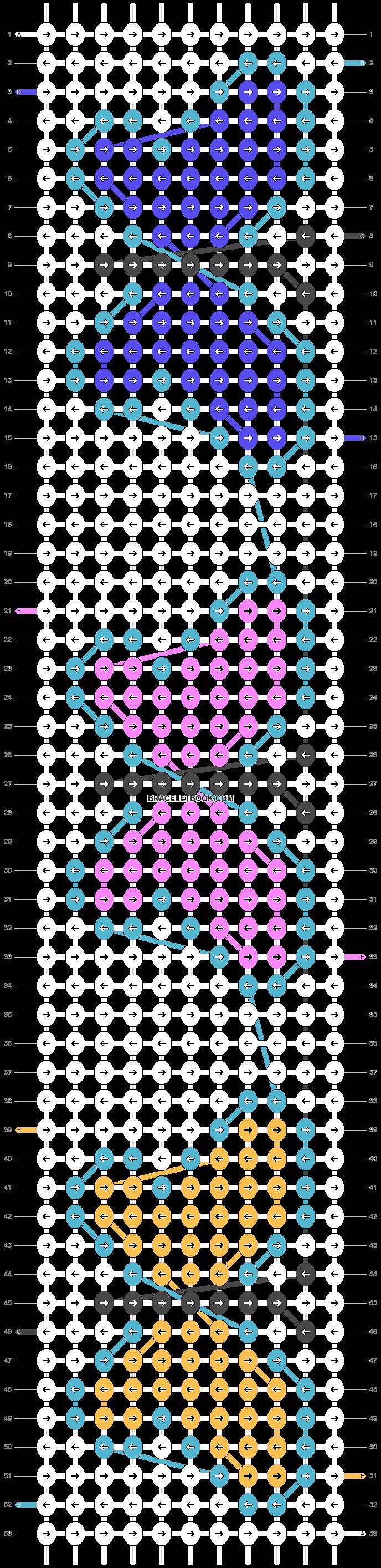 Alpha pattern #23867 pattern