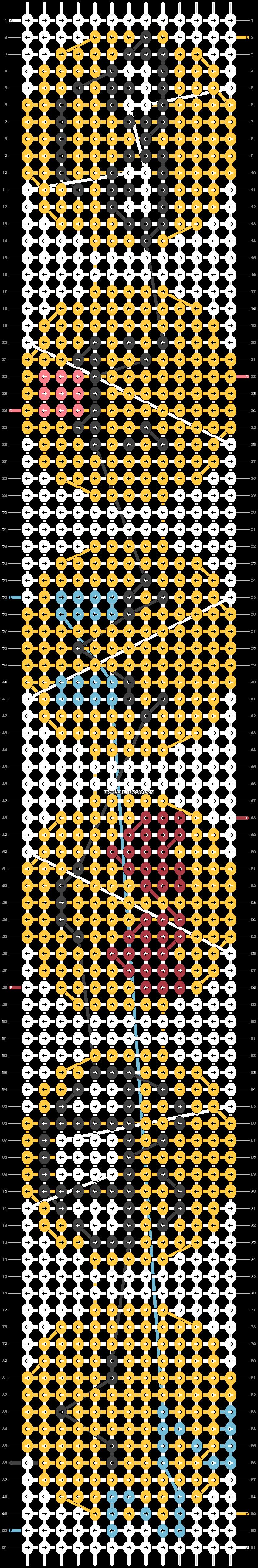 Alpha pattern #23869 pattern