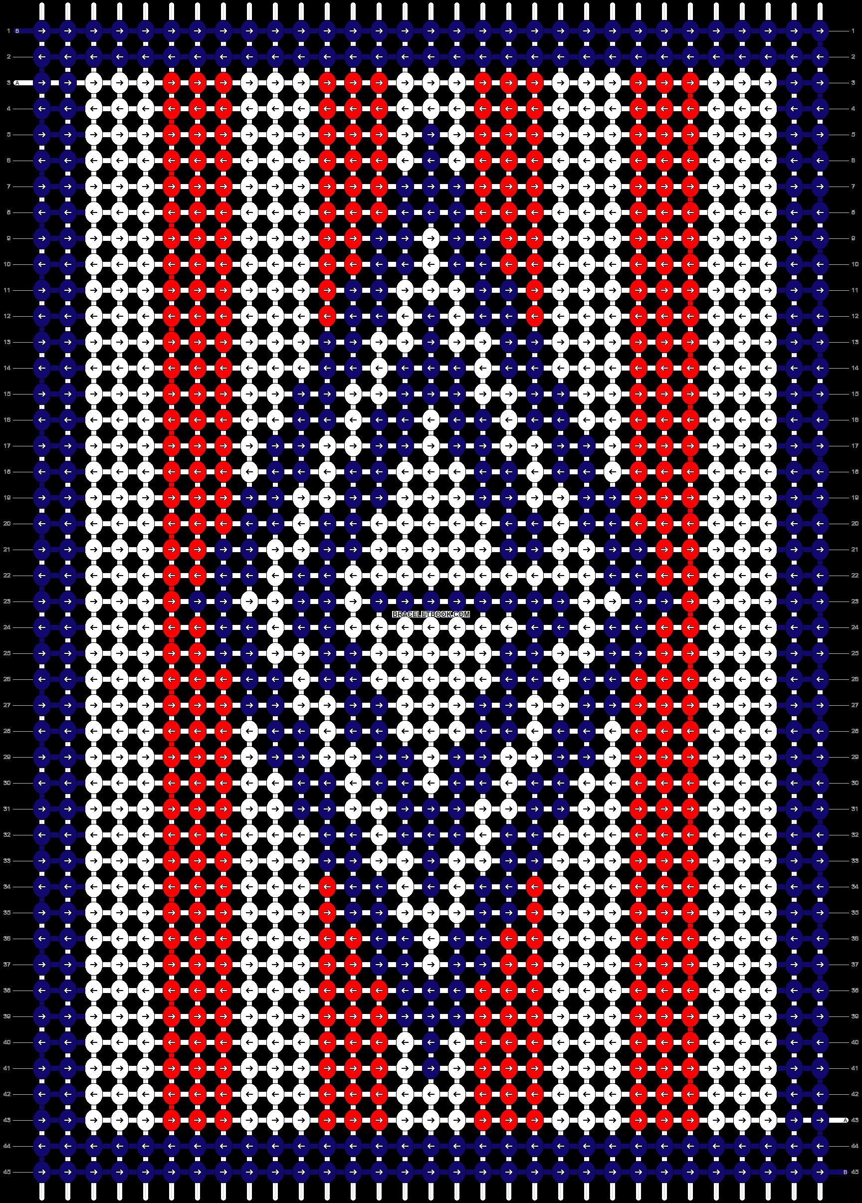 Alpha pattern #23872 pattern