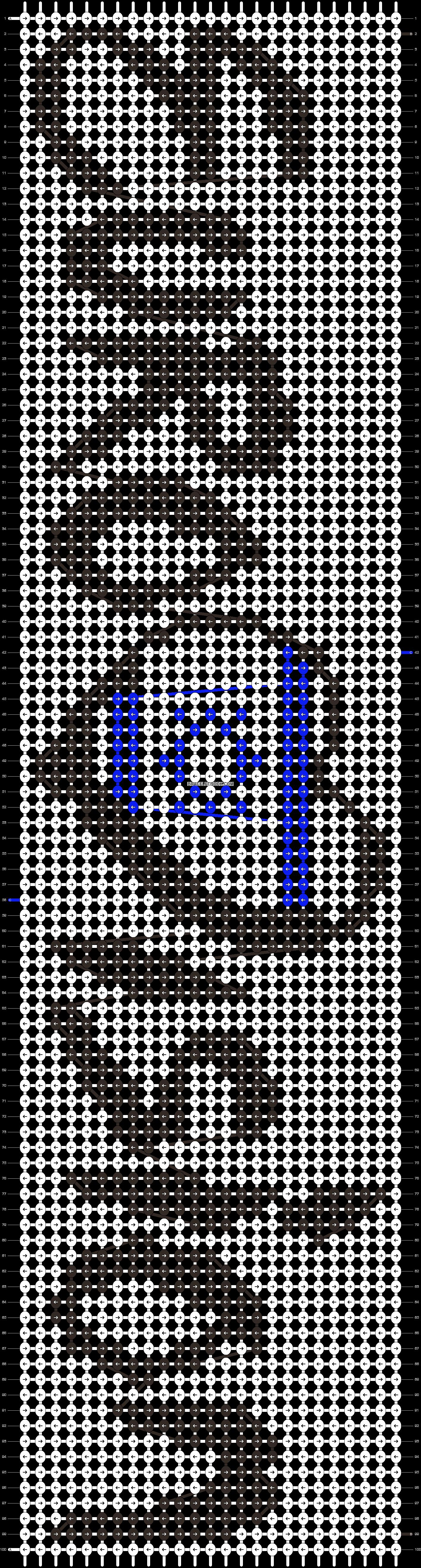 Alpha pattern #23884 pattern