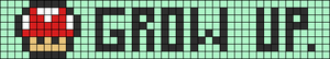 Alpha pattern #23893
