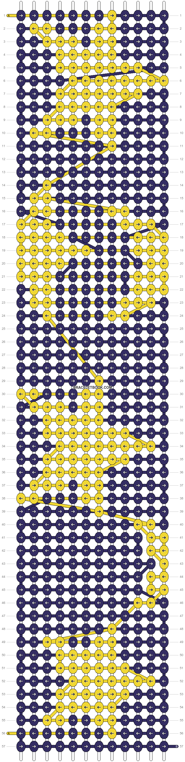Alpha pattern #23915 pattern