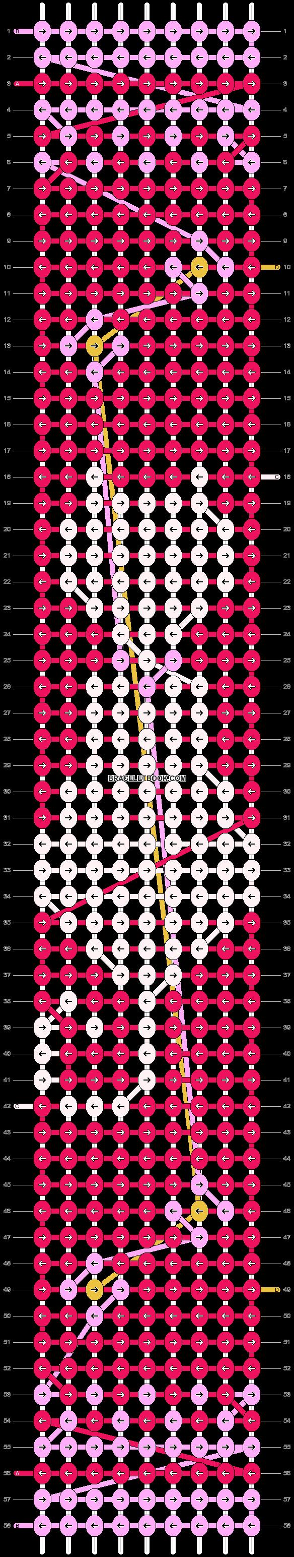 Alpha pattern #23950 pattern
