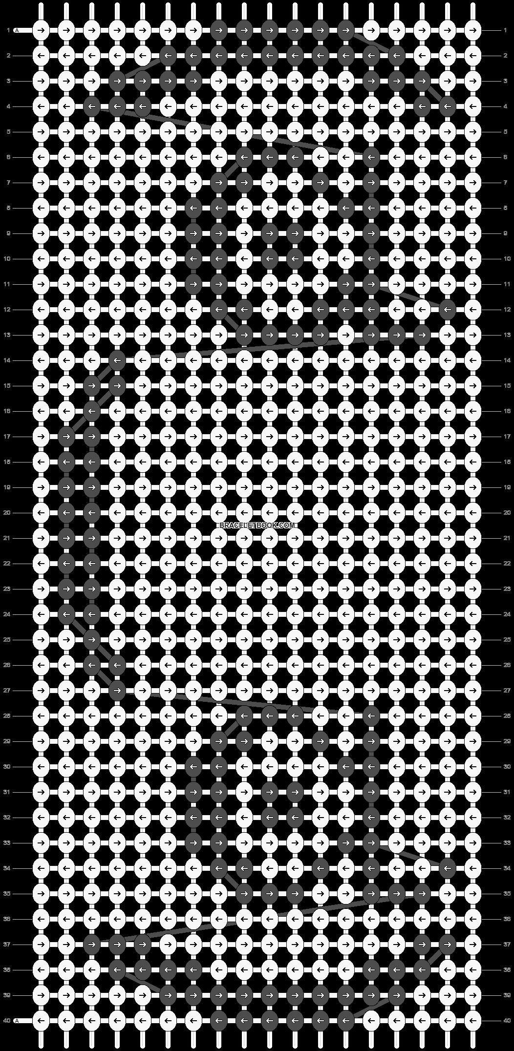 Alpha pattern #23993 pattern