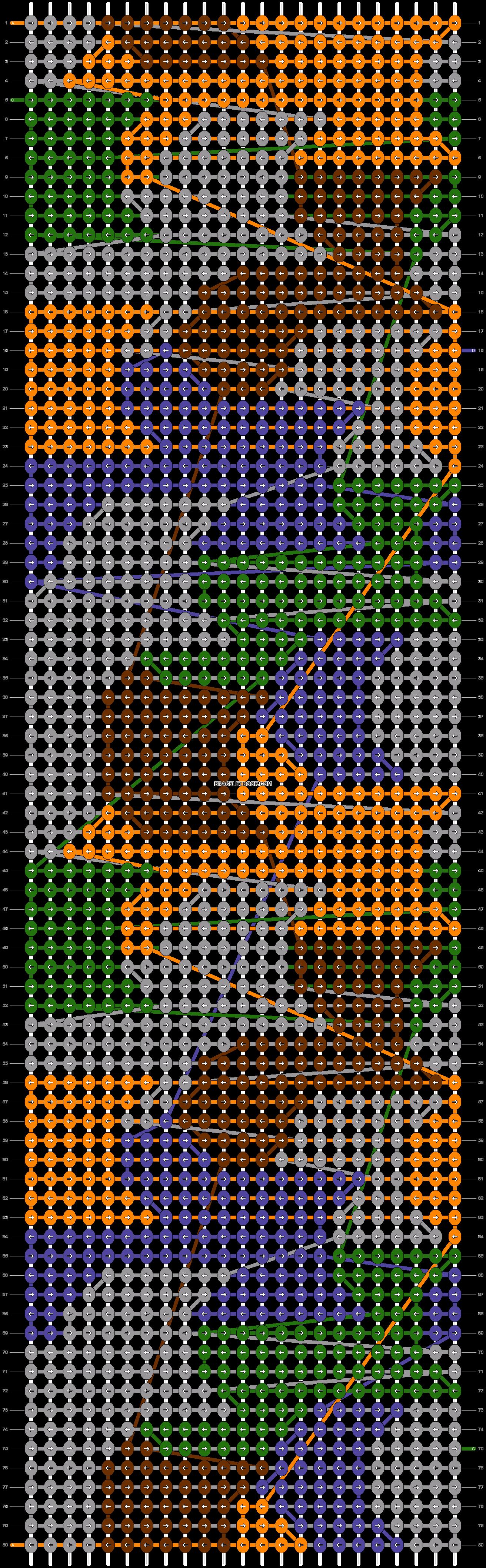 Alpha pattern #24045 pattern