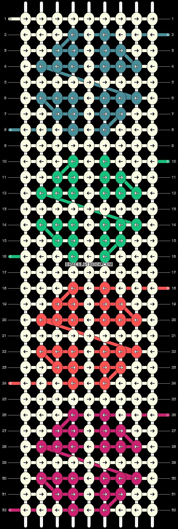 Alpha pattern #24052 pattern