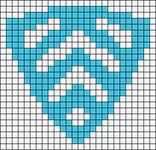 Alpha pattern #24055