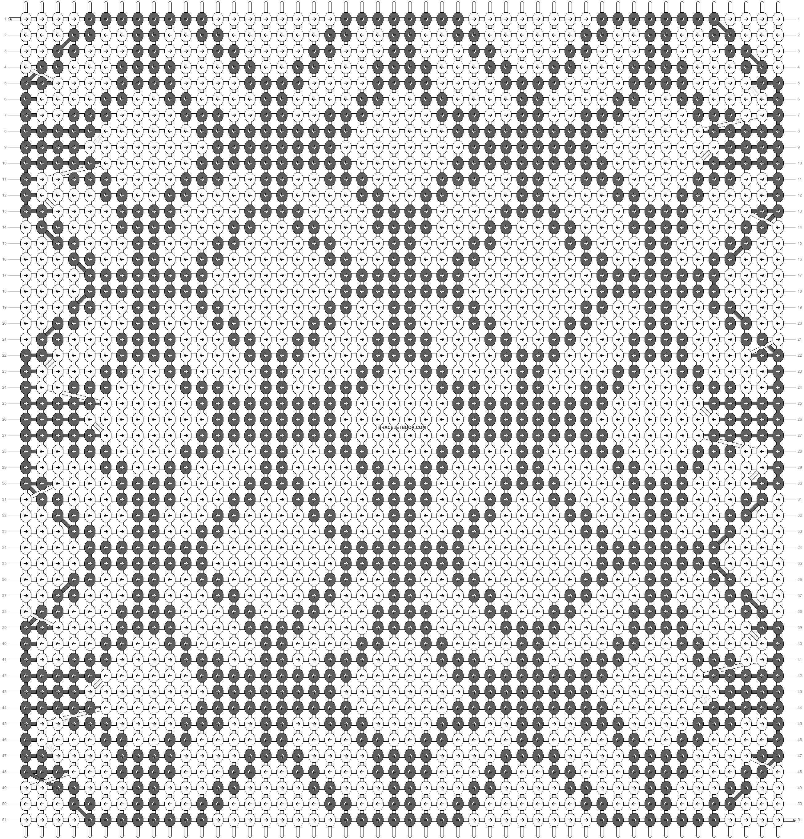 Alpha pattern #24056 pattern