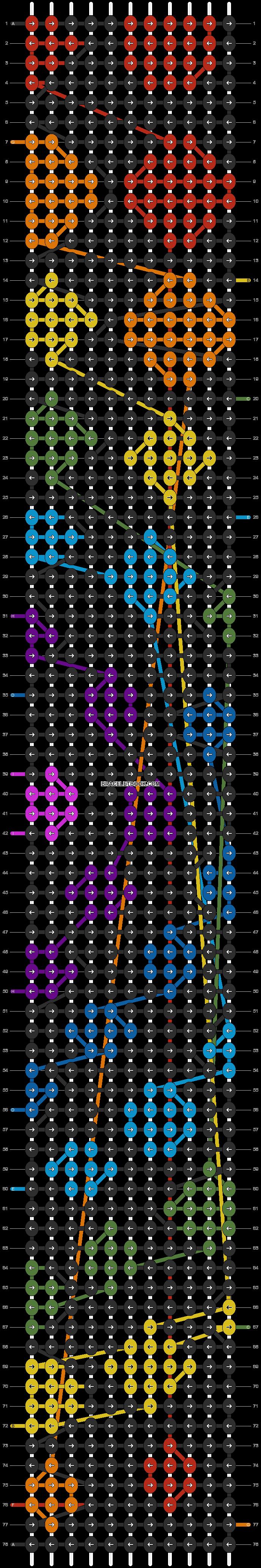 Alpha pattern #24058 pattern