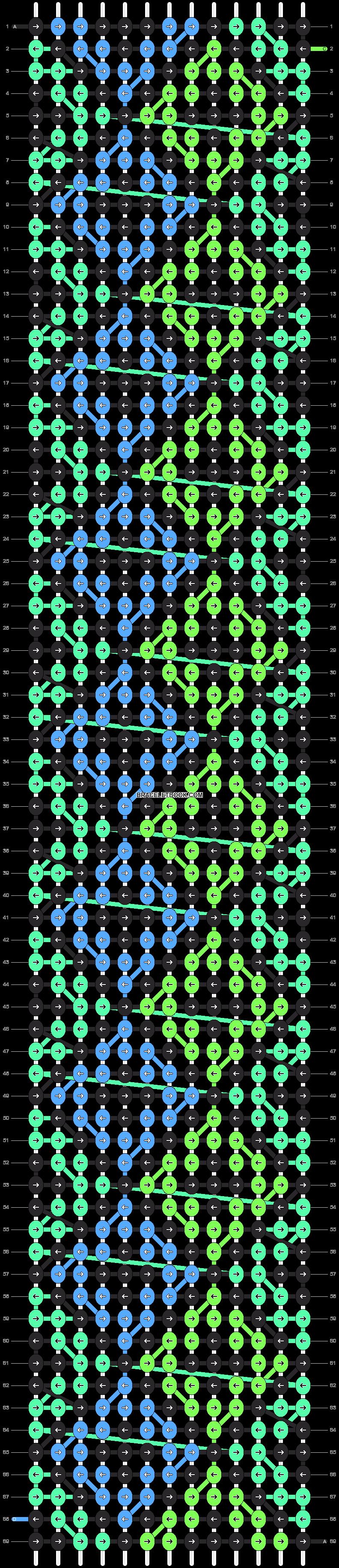 Alpha pattern #24069 pattern