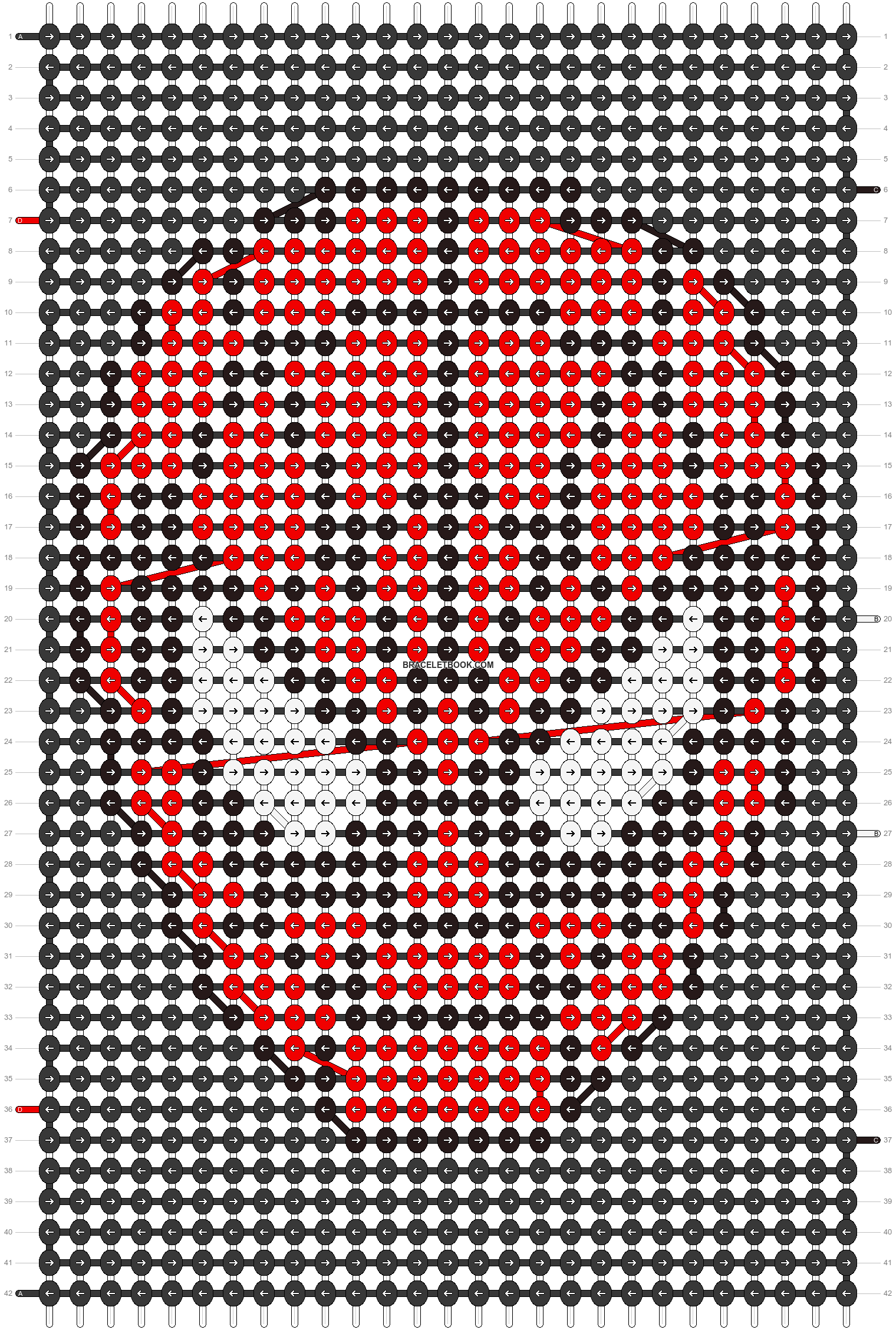 Alpha pattern #24088 pattern